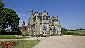 Astley Hall front view