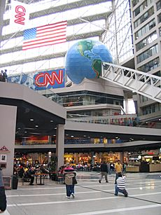 CNN Center interior