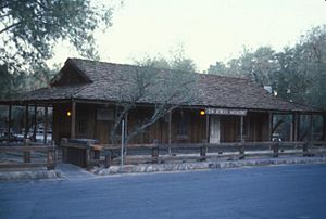 THE BORAX MUSEUM, DEATH VALLEY