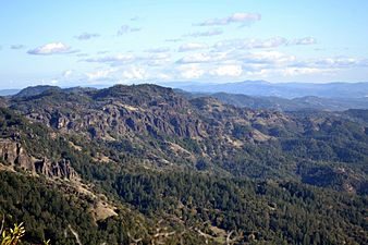 View from Mount Saint Helena, California 2