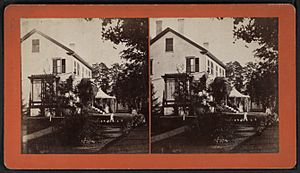 View of a home in Essex, N.Y, by E. M. Johnson