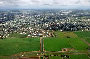 Bundaberg from the air 2