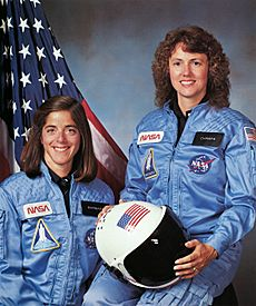 Christa McAuliffe and Barbara Morgan - GPN-2002-000004