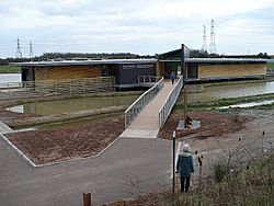 Entrance to Newport Wetlands Visitor Centre - geograph.org.uk - 729101