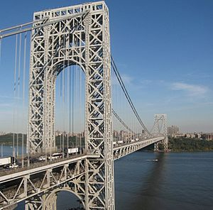George Washington Bridge from New Jersey-edit