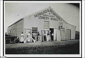 Joinery Works, Woodville West ca. 1910