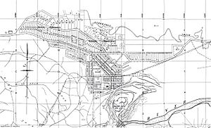 Old Brown Coal Mine Map Yallourn North