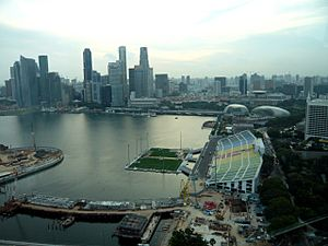 Singapore flyer view1