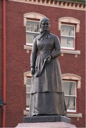 Statue of Sister Dora - geograph.org.uk - 682348