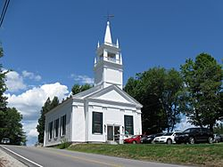 Andover Congregational Church in the village of East Andover