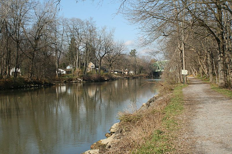Erie Canal in Pittsford