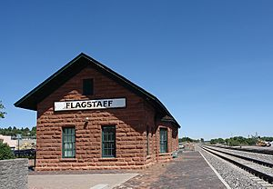 Flagstaff AZ - train station