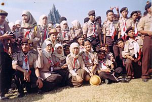 Gerakan Pramuka Indonesia Scouts 8th Indonesian National Rover Moot 2003