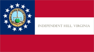 Independent Hill Flag