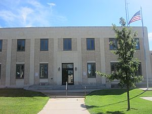 Kearny County, KS, Courthouse IMG 5843