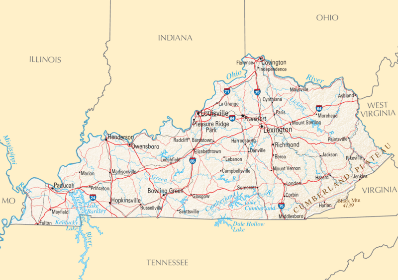 Map of Kentucky NA (cropped)
