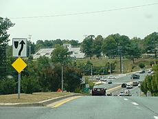 Middlebrook Road, Ridgecrest Drive, Germantown, Maryland, September 9, 2013