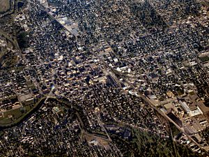 Muncie-indiana-downtown-from-above