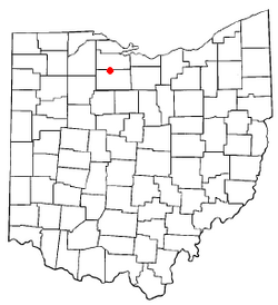 Location of Old Fort, Ohio
