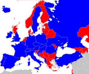 UEFA Euro 2016 Qualifiers Map