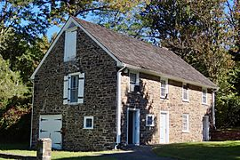 Washington Crossing State Park, NJ - Stone Barn by Johnson Ferry House