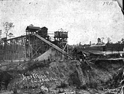 The Alice Mine in Early Bird, 1910