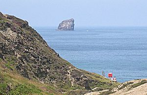 Bawden Rocks from Trevellas Coombe - geograph.org.uk - 101651