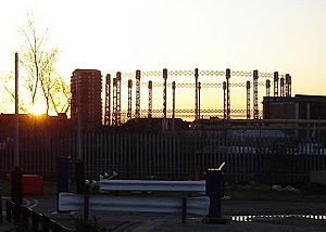 Chelsea imperial wharf gasworks 2