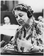 Eleanor Roosevelt at United Nations