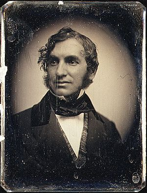 Henry Wadsworth Longfellow by Southworth & Hawes c1850