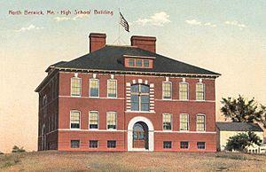 High School Building, North Berwick, ME