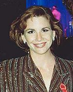 Melissa Gilbert at the 1991 Emmy Awards cropped
