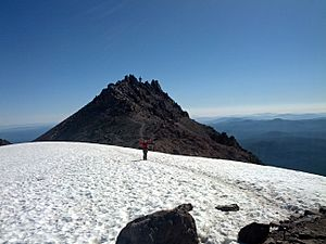 My mother made it too the top of Lassen Peak - Flickr - GregTheBusker