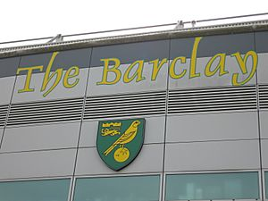 NCFC The Barclay Badge Apr07