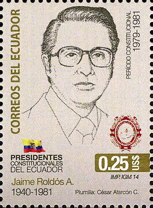 Stamps of Ecuador, 2014-36