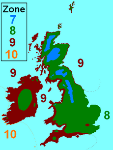 UK zonemap