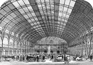 Agricultural Hall Cattle Show ILN 1861