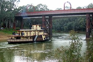Echuca-Moama rail bridge Stevage