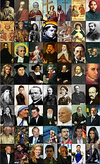 Famous Christians around the world