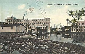 Goodall Worsted Company, Sanford, ME