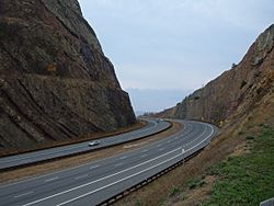 Sideling Hill road cut for Interstate 68 in Maryland