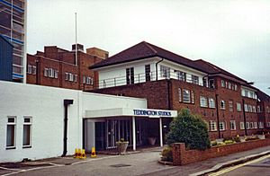 Thames Television and ABC Weekend TV studios in Teddington London Redvers