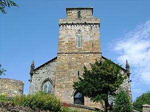 (Square Norman Tower of) Old Kirk, Kirkcaldy
