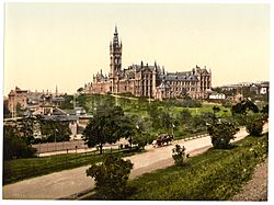 Glasgow University -Glasgow, Scotland--LCCN2001706004