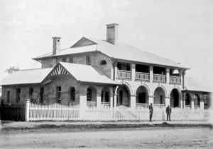 Queensland State Archives 2682 Police Station Warwick c 1890