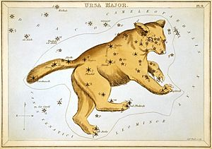 Sidney Hall - Urania's Mirror - Ursa Major