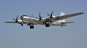 B-29 Doc McConnell Air Force Base July 17, 2016