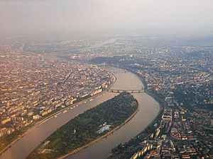 Budapest by air