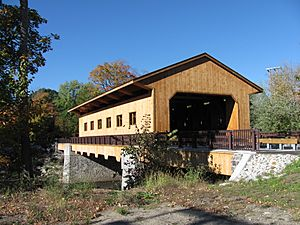 Pepperell Covered Bridge, East Pepperell MA