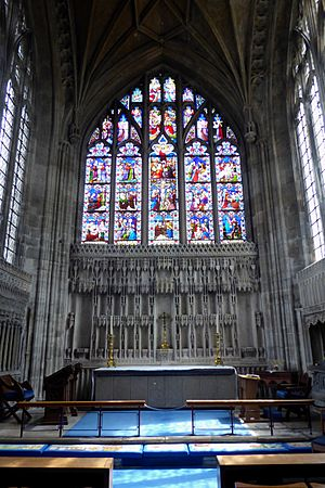 The Lady Chapel at Christchurch Priory
